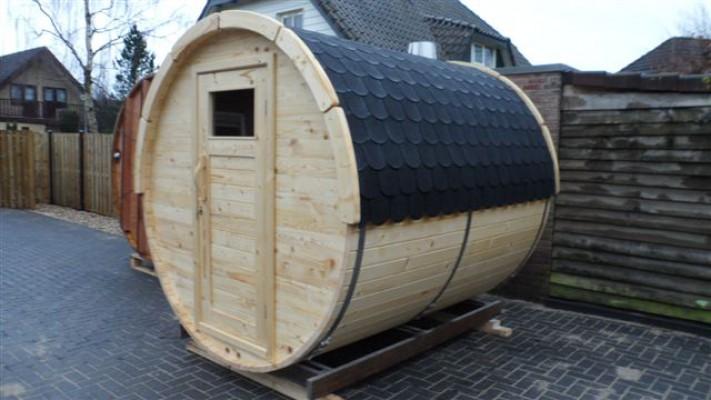 Brændefyret sauna